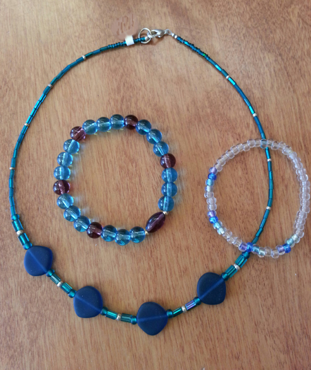 Basic Bead Stringing or Stretchy