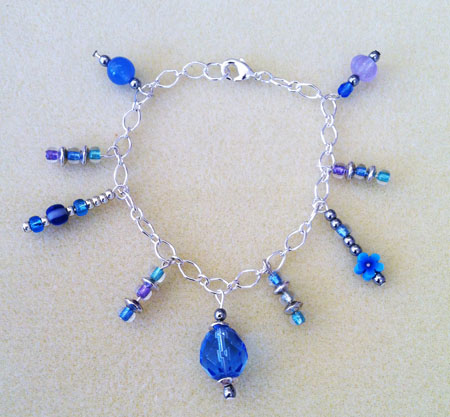 Charms on Chain Bracelet