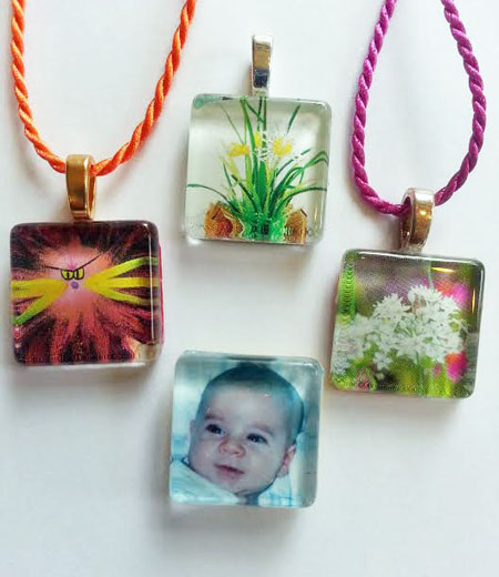 Memory Pendants and Magnets