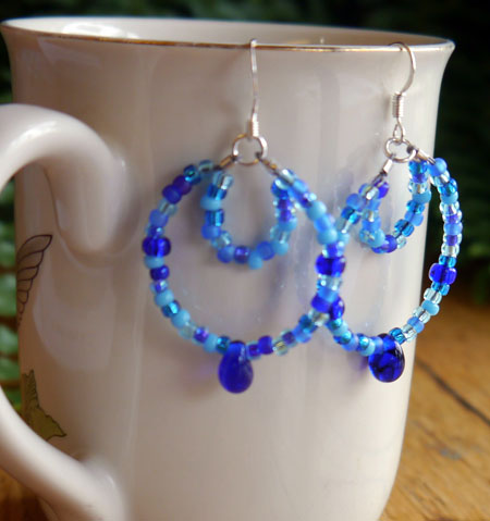Multi Strand Loop Earrings