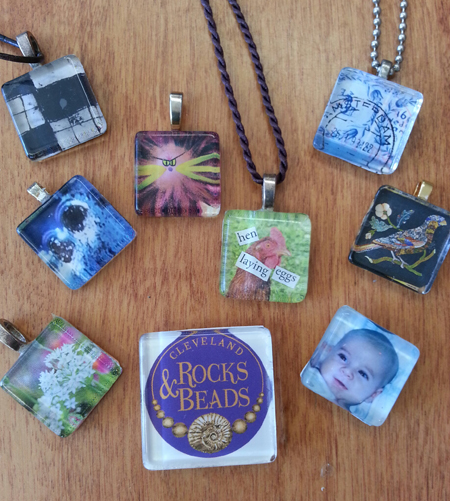 Photo Pendant Magnet