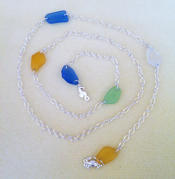 Sea Glass Lariat