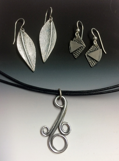Silver Metal Clay Jewelry