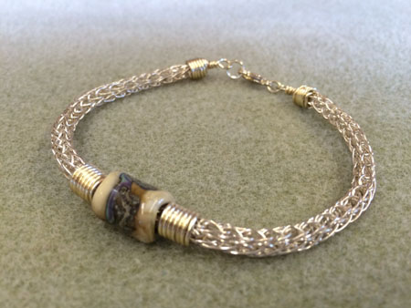 Viking Knit Bracelet New