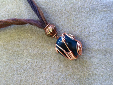 Wire Weaving Pendant